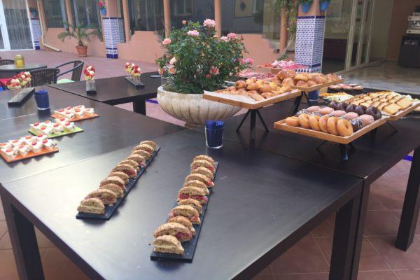 Desayuno NH Córdoba Guadalquivir